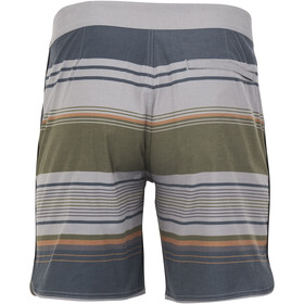 United By Blue Seabed Scallop Boardshorts Miehet, grey